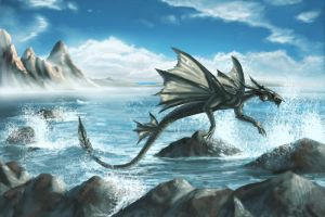 The Water Dragon - update by Joey-B
