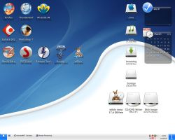 My desktop on March 25th 2005 by kassit