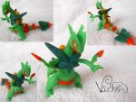 Mega Sceptile by VictorCustomizer