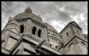 Paris  - Sacre Coeur WP 1 by superjuju29
