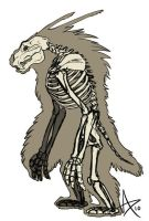 Cliffe Skeleton by CliffeArts