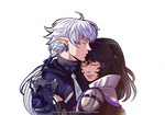 PP commission : Yura and Alphinaud by Black-pantheress
