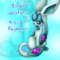 9,000 pageviews - Lyrin by Libra-Dragoness
