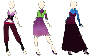 Fashion Adoptables 6 - CLOSED by Karijn-s-Basement