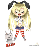 Chibi Kantai Collection Shimakaze by Shaun578