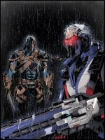 DC Overwatch - Deathstroke and Soldier 76 by TimelessUnknown