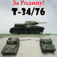 T-34 76 by DingoPatagonico