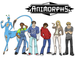 animorphs: cast by LizCoshizzle