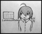 Sketch - Chibi Calender - 01 by LuminousAtelier