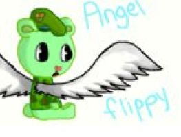 flippy's an angel by evilfliqpy