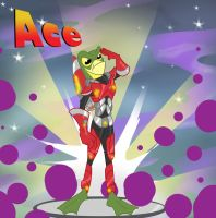EOA: Ace the Space Frog by alorix