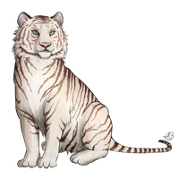 White Tiger by Selven7