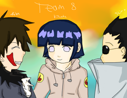 Naruto-Team 8 by Ozuma-Sister