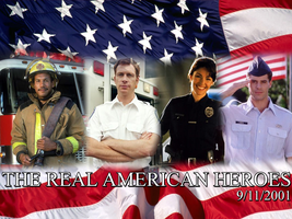 The Real American Heroes by MrAngryDog