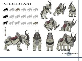 Goldfaxi Concept Art by DanGlasl