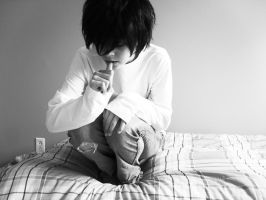 Cosplay L Lawliet by A-Lawliet