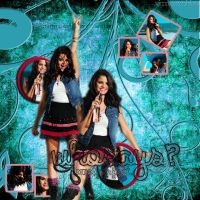 Blend Selena Gomez #14 by VicGomezEditions