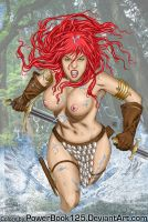 Red Sonja splash by powerbook125