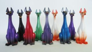Pharoah Hounds Series 3 by Arthammer