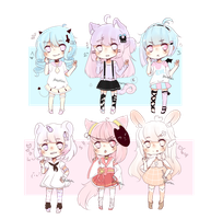 [Closed] Adopt batch #1-6 by pueru--adopts