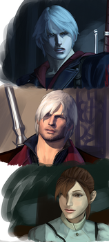 more dmc renders by itchcrotch