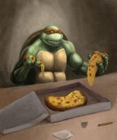 TMNT Mike by Zloy-Caleb
