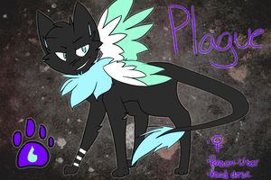 Plague Reference Sheet [Calty] by bad-egg-pun