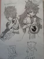 Elsword and Elesis by FireWeaver360