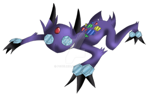 Sableye Fake Evolution by Pgdelirio