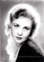 Ginger Rogers by Lillian-Bann