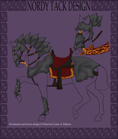 Nordanner Dragon Hunter Tack Entry by ReaWolf