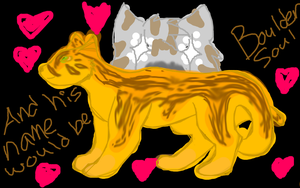 WTA February Assignment: Blizzardstar's Dream Cat by silver-moonwolf