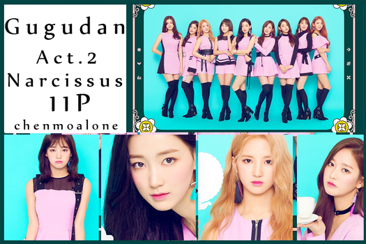 [photopack]Gugudan Act.2 Narcissus 11p by chenmoalone