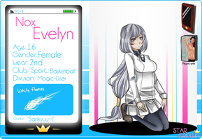 SC: Evelyn Nox by ForeverSoonImmortal