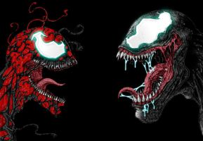 venom vs carnage by TheG-a-m-e