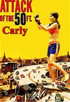 Attack Of The 50 Ft Carly by GiantessStudios101