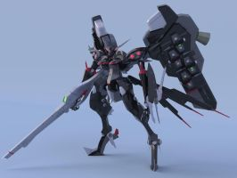 Armored Core Anti-AC Prototype IBIS by jesualdo