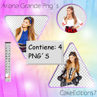Ariana Grande pngs by CakeEditions7
