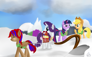 Winter wrap up Submission by Silverwindpegasus