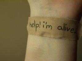 help. i'm alive by acidteaparty