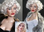 Doll Repaint - Madonna by noeling