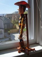 Woody looking at the big city by spidyphan2