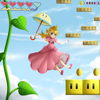 Super Princess Peach! by Icy-Snowflakes