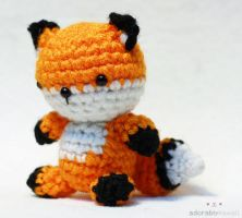 Tiny Fox Amigurumi by adorablykawaii