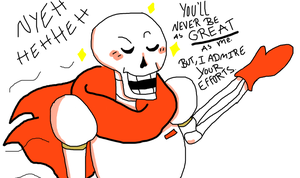 The Great Papyrus by DefectiveBunny