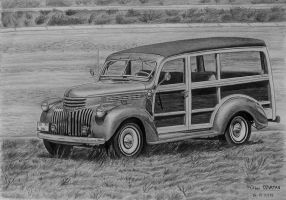 1946 Chevrolet Suburban Woody by orhano