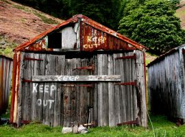 Keep Out by nectar666