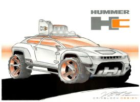 GM Hummer Hc Concept (Commission) (2) by CrivBlock