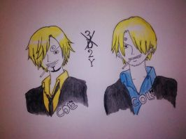 3dx2Y onepiece_sanji by colaseven