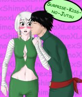 Surprise kiss no jutsu by GealachCaora